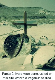 Cross  where vagabundo died